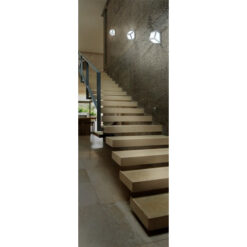 lighing design over stairs